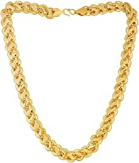 La Marque Gold Plated Chain For Mens Or Boys