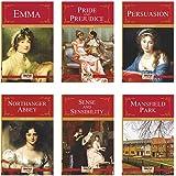 Complete Jane Austen Collection (Set of 6 Books) - Mansfield Park, Pride and Prejudice ,Sense & Sensibility, Persuasion, Emma