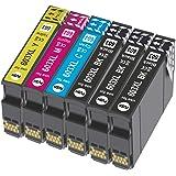 Caidi 6X 603 XL Compatible avec Cartouches Epson 603 603XL Multipack, pour Epson Expression Home XP-2100 XP-2105 XP-3100 XP-3