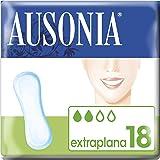 Ausonia Clásica Extraplana Compresas Sin Alas - 18 unidades