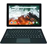 [Artículo Adicional 3] Simbans TangoTab 10 Pulgadas Tableta con Teclado, Ordenador Portátil 2 en 1, Android 10, 4 GB RAM, Dis