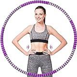 Hula Hoop Hoelahoep, afneembare hoelahoep voor volwassenen en kinderen voor gewichtsverlies en massage, 90 cm diameter, 1,2 k