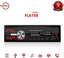 Woodman WM-13 Single Din Car Stereo