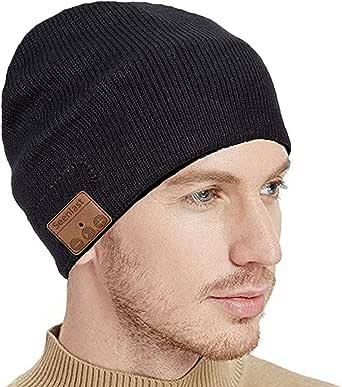 seenlast Cappello Bluetooth Beanie, Berretto Musicale Bluetooth 5.0 Cuffia Senza Fili con Altoparlanti, Cappello Caldo Invernali Lavabile Regali Natale per Uomo Donna Running Corsa Sci Escursionismo
