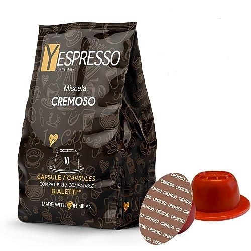 yespresso BIALETTI compatibili (CREMOSO) - 240 capsule