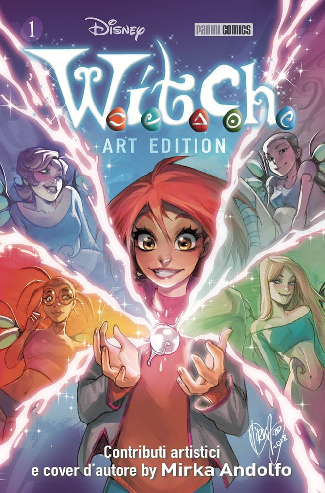 W.I.T.C.H. ART EDITION 1
