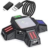 PICTEK Teclado Gaming, Teclado Gaming PC LED Retroiluminación ...