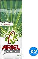 Ariel Automatic Laundry Powder Detergent, Original Scent, Dual Pack, 9 kg