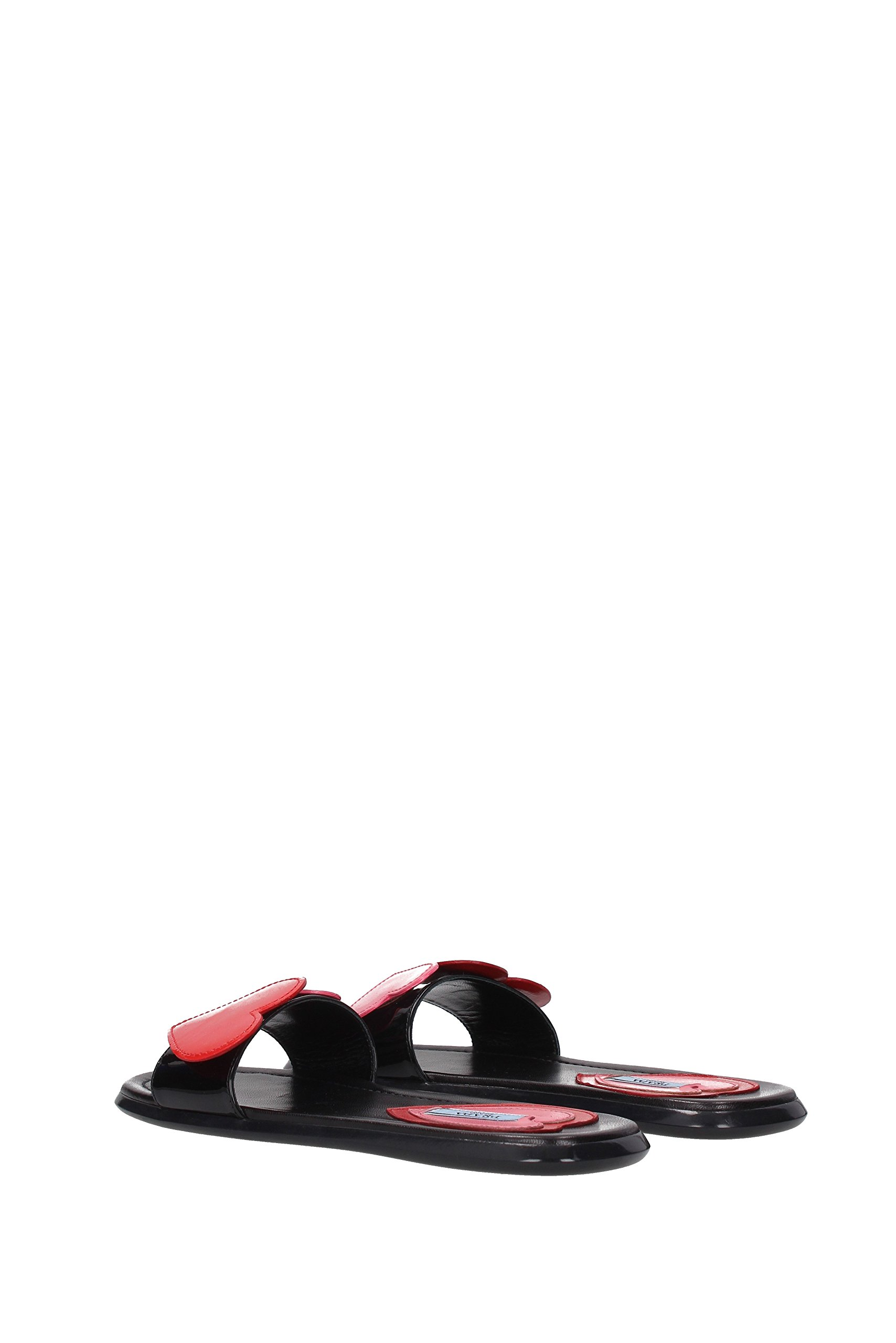 842a75b31 ... Prada Slippers and Clogs Women - Patent Leather (1XX312) UK. Sale