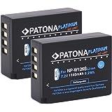 PATONA Platinum (2X) zamiennik do baterii Fujifilm NP-W126s NP-W126 (prawdziwa 1140 mAh)