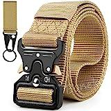 Boneke Cinturón Táctico Militar, Cinturón de Nailon Táctico Resistente con Correa de Metal de Liberación Rápida Para EDC de a