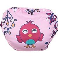 Polka Tots Reusable Swim Diaper Bird Design Baby Swim Costume