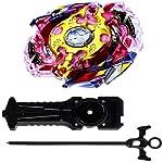 Beyblade Gyro Battling Burst Starter Legend Spriggan 7.7 Mr Top Beyblade with Launcher Grip ( Assorted Color ) - Pack of 1/