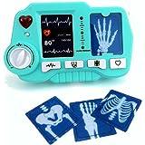 Brigamo Jouet ECG – et appareil radiocommandé avec fonction réaliste – ne doit manquer dans aucun jouet ou mallette de médeci