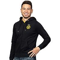 Borussia Dortmund Felpa Con Cappuccio Con Emblema Giacca Unisex - Adulto