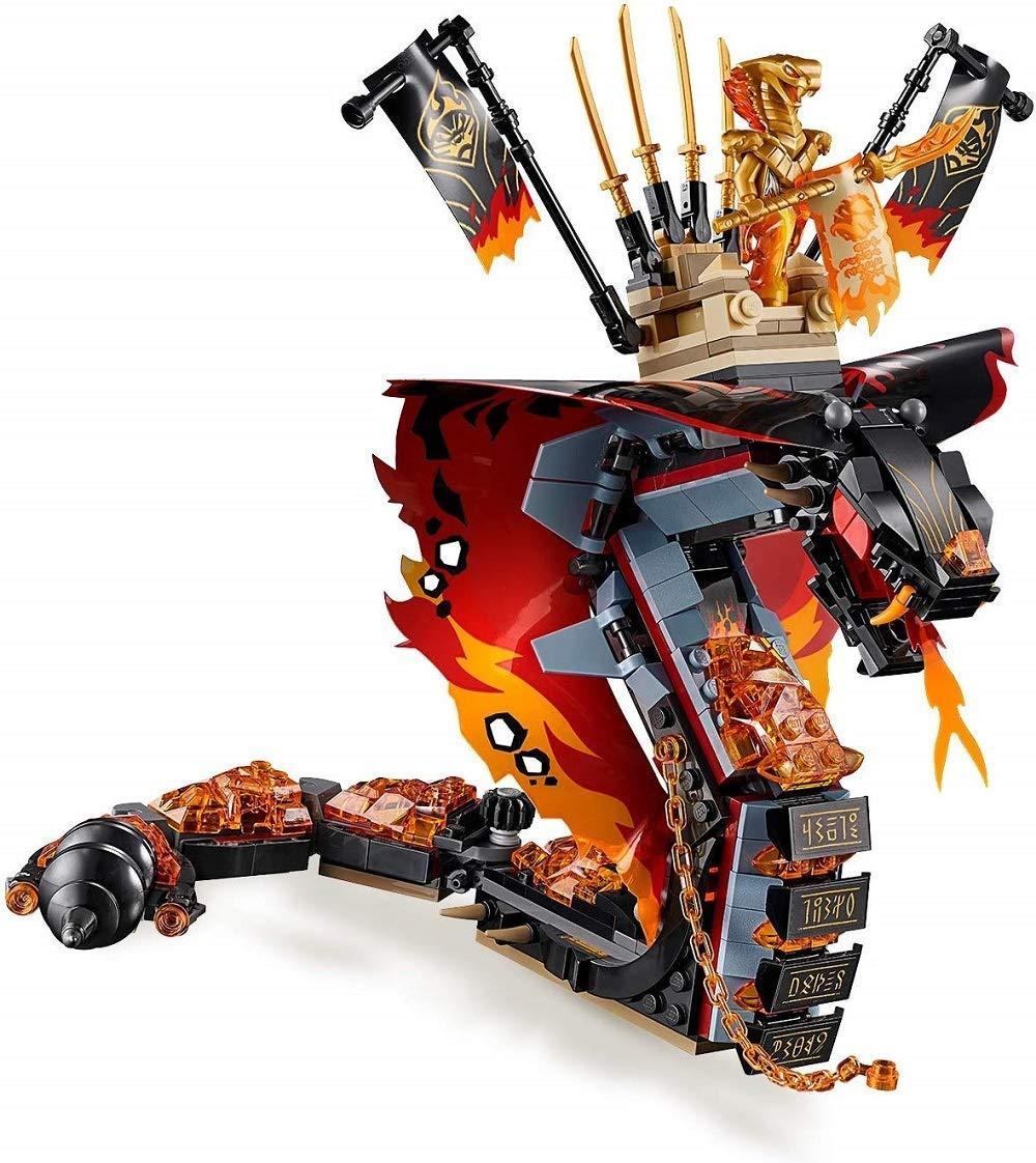 LEGO Zanna Di Fuoco Costruzioni Piccole 3 spesavip