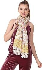 CARA Latestdesigner shawl For Women Party Wear, Scarf, Art Silk,Stole, Duppatta