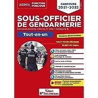 Concours Sous-officier de gendarmerie - Catégorie B - Tout-en-un - 20 tutos offerts: Gendarme externe, interne et 3e…