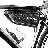 LUROON Borsa Telaio Bici Impermeabile, Borsa Triangolare da Bicicletta Grande capacità 1.5 L Adatto Bici Borse…