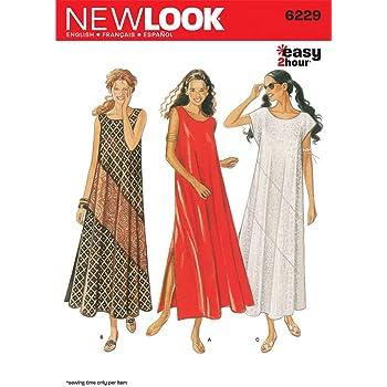 abe0d50321c0 New Look - Cartamodello 6229 per vestiti da donna