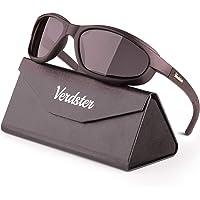 Occhiali da Sole Sportivi Polarizzati da Uomo & Donna – Protezione UV - Design Confortevole Avvolgente con Cuscinetti di…