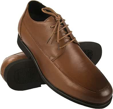 Zerimar Scarpe con Rialzo per Uomo Che Permettono di Aumentare la Statura Fino a +7 cm   Scarpe da Uomo con Aumento  Scarpe Che Aumentare la Tua Altezza