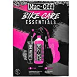 Muc-Off 936US Bike Care Essentials Kit - Must-Have producten om uw fiets schoon te maken en te beschermen - inclusief fietsre