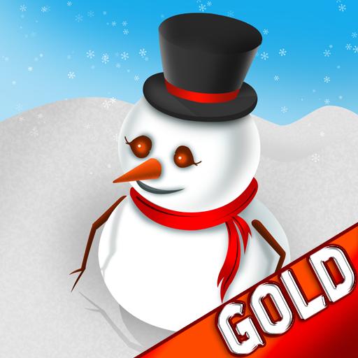Bouboule den Winter Schneemann der Weihnachtsabend Schnee Springen Abenteuer - Gold Edition -