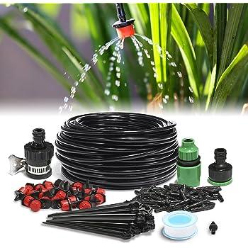 25 Meter Bewässerungssystem mit 30 Tröpfchen Bewässerung Set TOP Qualität