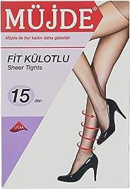 Müjde Kadın Fit Külotlu Çorap, 6'lı Paket