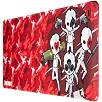 Tappetino per mouse da gioco XXL Fortnite con base in gomma antiscivolo e con rifiniture di alta qualitá, 80x35 cm
