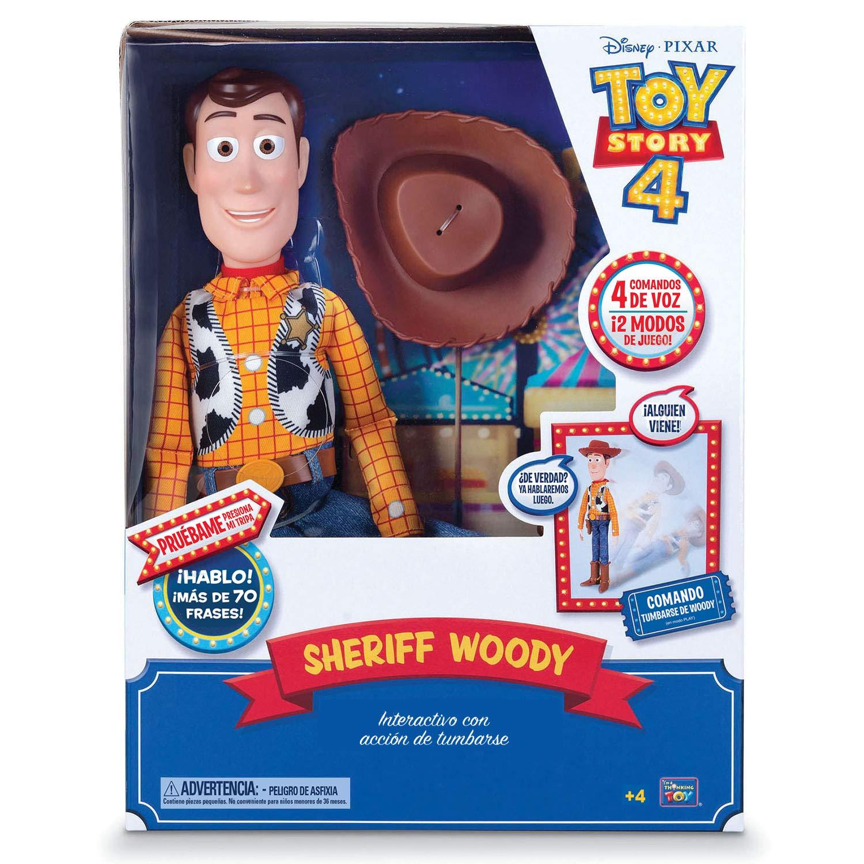 Toy Story 6123407 Buzz Lightyear Figura Articulada Con Voz