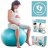 Balle de grossesse et de grossesse avec guide d'exercices spécifique pour perte de poids 65 cm 75 cm