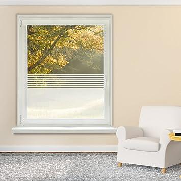 Fensterfolie Glasdekor Sichtschutz Fensteraufkleber Badezimmer Glastür Büro  (40x70cm)