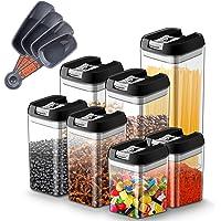 Myguru Boîte Rangement pour Aliment avec Couvercle Récipients Hermétiques à Nourriture Ensembles Boîtes sans BPA pour…