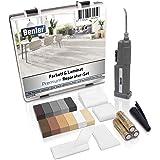BENLER NIEUW! - Houten reparatieset met 2-in-1 wassmelter voor laminaat parket en vinylvloer - houtkit ook voor PVC, kunststo