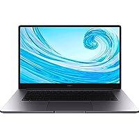 HUAWEI MateBook D 15, Intel Core i3-10110U, 8GB RAM, 256GB SSD, 15,6 Zoll Laptop, 1080p FHD FullView Display, Schlankes…