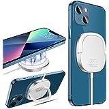 KKM Chargeur sans Fil Magnétique, Chargeur Induction Compatible avec Magsafe Chargeur, 15W Charging Pad pour iPhone 12/12 min