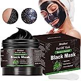 Maschera Nera, Black Mask, Maschera di comedone, Blackhead Remover Black Mask, Facciale Cura Strappando Stile Pulizia Profond