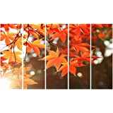 999Store wall frames painting for wall decoration big size Nature wall art panels hanging painting Set of 5 frames (130 X 76