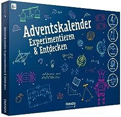 FRANZIS young Explorer Adventskalender Experimentieren & Entdecken 2018 | 24 Physik-Experimente für die Adventszeit | Ab 8 Jahren