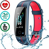 LATEC Fitness Tracker [Ultima Versione], Schermo a Colori Activity Tracker Smart Bracelet Impermeabile IP68 Pedometro...