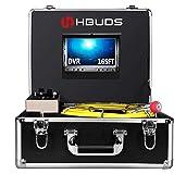 Loodgieterswerk Camera, Afvoerpijp Inspectie Camera 50 M met DVR Fuction voor rioollijn controle, Waterdichte IP68 Snake Vide