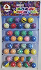 Laps of Luxury Imported Colorful rubber Bouncing or Crazy Balls pack of 36 pieces