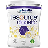 Nestle Resource Diabetic Food for The Dietary Management of Individuals with Diabetes - 400 g Pet Jar pack (Vanilla Flavour)