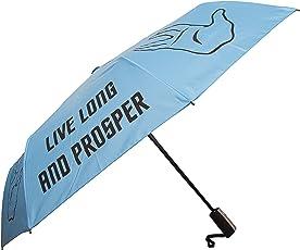 Live Long and Prosper Faltbarer Regenschirm- Offiziell Star Trek Raumschiff Enterprise Taschenschirm