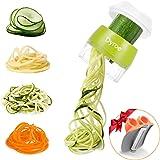 Dyroe Spiralizzatore di Verdure,Tagliapasta per Verdure, 4 in1 Affetta Verdure Spaghetti Multifunzione affetta Verdure…