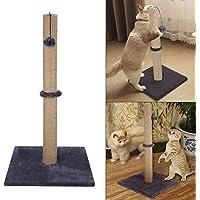 Shoze Cat Climbing Frame Grey Cat/Kitten Extra Tall Sisal Scratching/Scratcher Post(74CM)