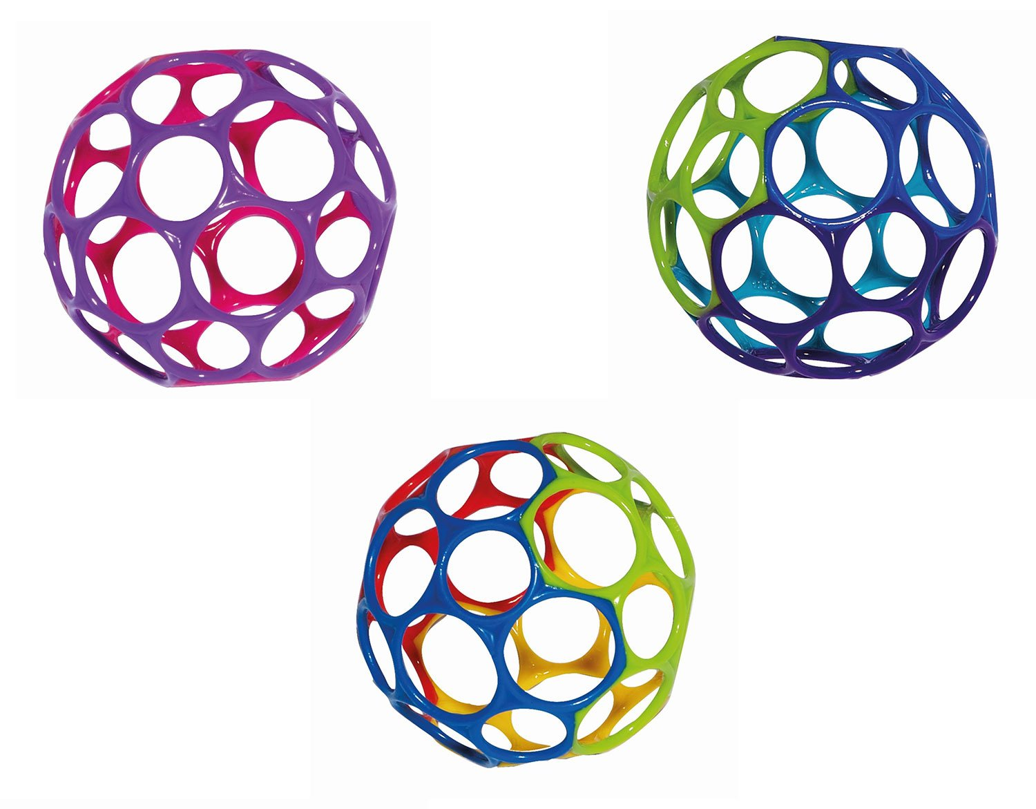 Rhino Toys 4-inch Oball (Colours May Vary) 3