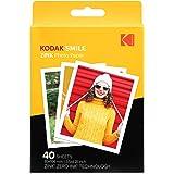 """Kodak Premium Carta Fotografica 3.5""""x4.25"""" Zink (40 fogli)"""